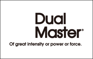 ブランドdual masterのロゴ画像
